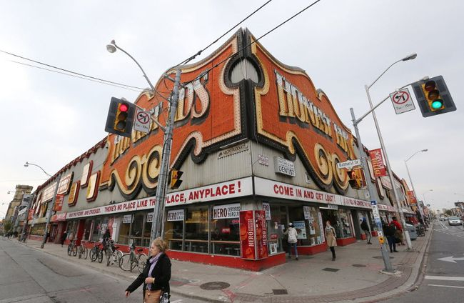 A four-day festival will honour iconic Toronto retailer Honest Ed's. STAN BEHAL/ POSTMEDIA