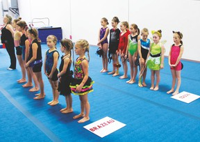 On October 28, Brazeau Gymnastics Club hosted a Halloween Fun Meet featuring competitive and recreational athletes from both Drayton Valley and Edson.
