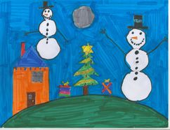 We love receiving your stories, poems and pictures - like this one submitted by Carman Elementary School student Coltyn last year - to fill our holiday issue with real cheer. (FILE/CARMAN VALLEY LEADER)
