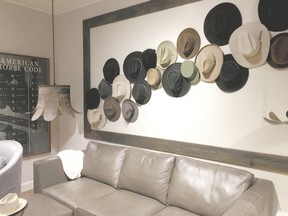 Our love of fashion now crosses the threshold of the foyer, living and dining room, in addition to the closet.