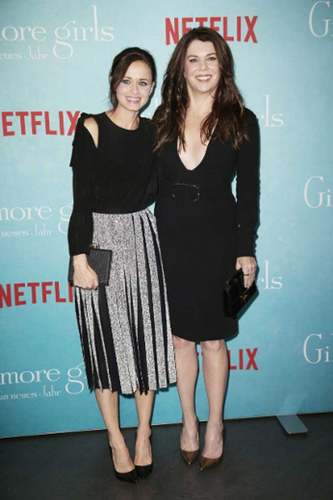 "Alexis Bledel and Lauren Graham of ""Gilmore Girls: A Year in the Life."""