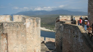 View from Castillo de San Pedro de la Roca. Built in the mid 1600s, the fortress once protected the Cuban coast and the city of Santiago de Cuba from pirates. JANE STEVENSON/POSTMEDIA NETWORK
