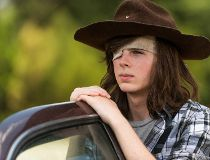 Carl Grimes (played by Chandler Riggs)