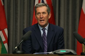 Premier Brian Pallister said Manitoba's emergency communications system is woefully out of date and should have been addressed eight years ago. (Kevin King/Winnipeg Sun)
