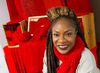 Canadian R&B artist Jully Black, who will perform at a benefit concert for the Regional HIV/AIDS Connection at the London Music Hall on Thursday, sports a red scarf to raise awareness of the illness which claimed  ? among others ? her dear friend and mentor Teddy. (CRAIG GLOVER, The London Free Press)