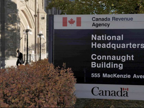 About 1,300 CRA employees at the moment work at two processing and collection sites locally — the Ottawa Technology Centre and the International and Ottawa Tax Services Office. (Sean Kilpatrick, The Canadian Press)