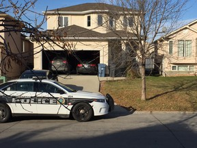 Charges have been laid against the alleged sender of a package containing fentanyl to this Kinlock Lane home, where two men overdosed -- one died, while the other has since recovered -- last month. (JIM BENDER/WINNIPEG SUN FILE PHOTO)