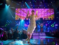 """This image released by Universal Pictures shows Andy Samberg in a scene from, """"Popstar: Never Stop Never Stopping."""" (Glen Wilson/Universal Pictures)"""