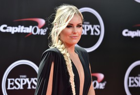 Alpine ski racer Lindsey Vonn is spending the U.S. Thanksgiving holiday with a new boyfriend. (Jordan Strauss/Invision/AP/Files)
