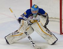 Fort McMurray Oil Barons goaltender Eric Szudor is one of three players from the MOB who were selected to attend the Canada West Camp in early December ahead of the World Junior A Challenge. Robert Murray/Fort McMurray Today/Postmedia Network