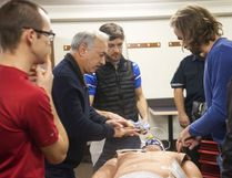 Local physicians received up to date cardiac training from Shane's Emergency Training Services on Tuesday, November 8, 2016, in Vermilion, Alta. Taylor Hermiston/Vermilion Standard/Postmedia Network.