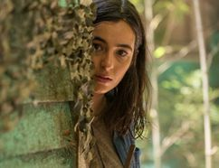 "Alanna Masterson as Tara Chambler on ""The Walking Dead."""