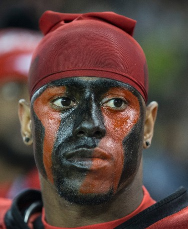 Stunned Stampeders during CFL Grey Cup action in Toronto, Ont. on Sunday November 27, 2016. Craig Robertson/Toronto Sun/Postmedia Network