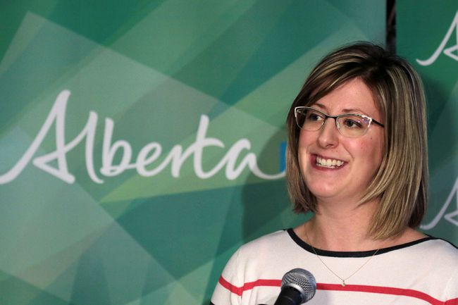 Minister of Service Alberta Stephanie McLean