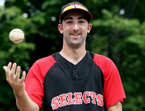 Outfielder Justin Doran of Chatham played for Team Ontario at the 2016 Baseball Canada Cup. (MARK MALONE/The Daily News)