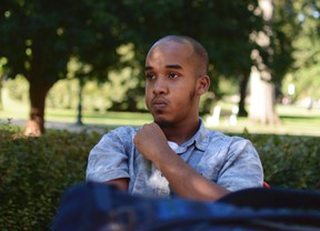 This August 2016 image provided by TheLantern.com shows Abdul Razak Ali Artan in Columbus, Ohio. Authorities identified Abdul Razak Ali Artan as the Somali-born Ohio State University student who plowed his car into a group of pedestrians on campus and then got out and began stabbing people with a knife Monday, Nov. 28, 2016, before he was shot to death by an officer. (Kevin Stankiewicz/TheLantern.com via AP)