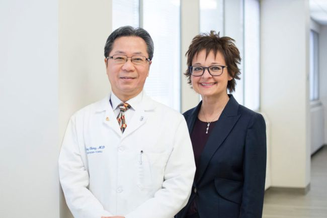 Davy Cheng and Janet Martin of the Schulich School of Medicine and Dentistry are heading a project for the World Health Organization (WHO), which has designated the school as a collaborative research centre .  Submitted photo