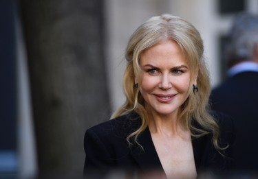US actress Nicole Kidman arrives for the presentation of the 2017 Pirelli calendar in Paris on November 29, 2016. / AFP PHOTO / ERIC FEFERBERGERIC FEFERBERG/AFP/Getty Images