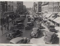 King Street looking west from the upper bend, latter 1930s.