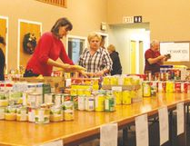 The food bank's annual Food Blitz takes place on Monday, Dec. 5. Nanton News file photo
