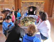 The Fort Heritage Precinct's history programming has proven to be popular. The 2016-17 school year saw all 70 dates booked within 30 minutes of registration opening in June, and 50 schools were left waiting to come to the Fort. (Supplied photo)