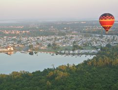 Seeing Kissimmee and the surrounding county from one of Bob's Balloons is an excellent way to get a sense of the greenery and beauty of the area. (KATE DUBINSKI, The London Free Press)