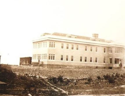 Noah Timmins had a new two-storey hospital built in 1919 managed by the Sisters of Providence. The Hollinger would get out of the health-care business in 1927 and the hospital would be named St. Mary's. (Photo courtesy of the Timmins Museum: National Exhibition Centre)
