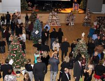 The 13th Annual Festival of Trees opening night gala and auction attracted a capacity gathering of 180 supporters to the Seven Generations Event Centre, Friday evening, Dec. 2. REG CLAYTON/Daily Miner and News