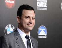 "In this March 20, 2014, file photo, television personality and event host Jimmy Kimmel attends the 2nd Annual ""Rebels With a Cause"" Gala benefiting the USC Center for Applied Molecular Medicine at Paramount Pictures Studios in Los Angeles. (Photo by Dan Steinberg/Invision/AP, File)"