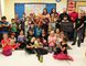 PAUL KRAJEWSKI HIGH RIVER TIMES/POSTMEDIA NETWORK. The MindUp program, which is focused on improving students' mental health capacity, was introduced to Spitzee Elementary School on Nov. 24. The program was made possible through a donation from High River's Boston Pizza during a presentation at the school. Seen above are the Grade 2/3 class, Grade 4 and 5 ambassadors, Jeff Siffledeen, Boston Pizza general manager, teachers and staff.