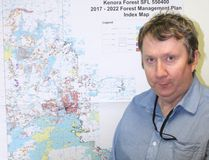 Kenora district MNRF management forester Ian Pyke
