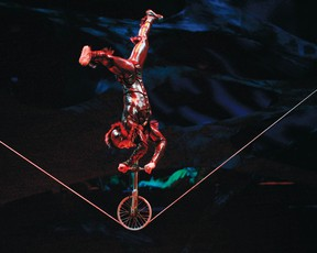 Cirque de Soleil begins its five-day at the Rogers K-Rock Centre on Wednesday. (Supplied photo)