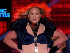 "Channing Tatum and Beyonce's ""Run The World (Girls)"" vs. Jenna Dewan-Tatum's ""Pony"" – Spike's Lip Sync Battle."