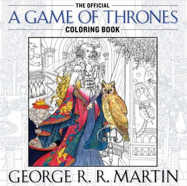 The GoT colouring book.