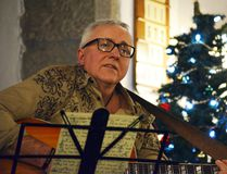 Singer-songwriter Mike Petroff is one of the artists performing at Creekside Villa Live's Christmas Extravaganza on Wednesday, Dec. 14, along with Elk Run and Riot, Kyle Pullan and The Raven and Fox. (Michelle Ferguson/ Crag Canyon Archives)