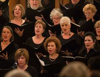 The Bow Valley Chorus performs Handel's Messiah at Silvertip Resort in Canmore on 2013. The chorus has two shows this coming weekend, in Banff on Saturday, Dec. 10, 2016 and Canmore on Sunday, Dec. 11, 2016. Justin Parsons/ Bow Valley Crag Canyon Archives