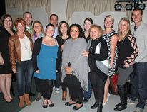 Célina Ip / Daily Observer: The Caring for Cam Fundraiser raised $14,500. Proceeds will be donated in support of Amy and Pres Lavier (Cam's parents) and to childhood cancer research. In back row (left to right), Amy Lavier, Marianne Minns, Pres Lavier, Vicky Kelly, Kathy Nalon, Brandon Beaulieu, Andrea Winters, Candice Mirander, Ashley Kerr, Nicky Coulombe, Tabitha Kearney, Elisa Christie and James Christie.