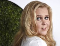 Amy Schumer arrives at the GQ Men of the Year Party at the Chateau Marmont in Los Angeles.