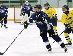 Madison Lalonde is scheduled to join former Ursuline Lancers teammates Lauren Nicholson and Sydney Authier at Ryerson University next season. (Daily News File Photo)
