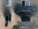 Fire caused extensive damage at an apartment building at 30 Campbell Court on Monday morning. Scott Wishart/Stratford Beacon Herald/Postmedia Network