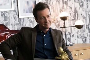 """Edward Norton in """"Collateral Beauty."""""""
