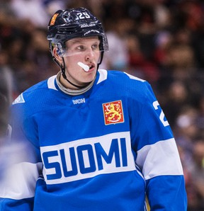 Patrik Laine wants to play in the 2018 Olympics, but only if the NHL and NHLPA can reach a consensus on the issue. (Craig Robertson/Postmedia Network file photo)