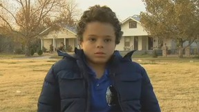 TJ Smith, 11, thwarted an attempted kidnapping of a seven-year-old girl. (Screengrab)