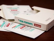 """Legally prescribed fentanyl patches, like these pictured above, were """"John's"""" introduction to the drug. (Postmedia Network)"""