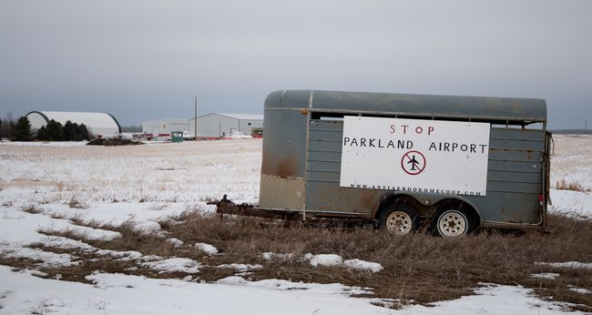 The Parkland Airport Development Corporation (PADC) owes more than $15 million to its creditors as of Dec. 6 and has taken the first step in insolvency proceedings. - File photo