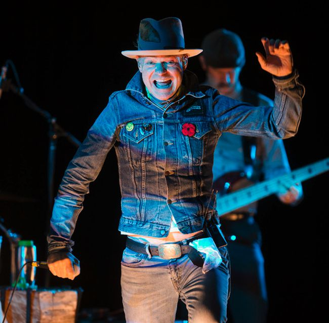 Tragically Hip frontman, Gord Downie, performs songs from his solo album - Secret Path - at Roy Thomson Hall in Toronto on October 21, 2016. (Ernest Doroszuk/Toronto Sun/Postmedia Network)