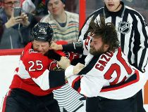 Sens fight