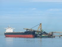 A freighter at the Port of Vancouver DeltaPort and coal terminal. Delta, British Columbia, Canada. (Getty Images)