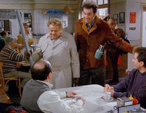 """The Seinfeld episode in which Frank Costanza (Jerry Stiller) introduced the world to the phrase, """"Festivus for the rest of us!"""""""
