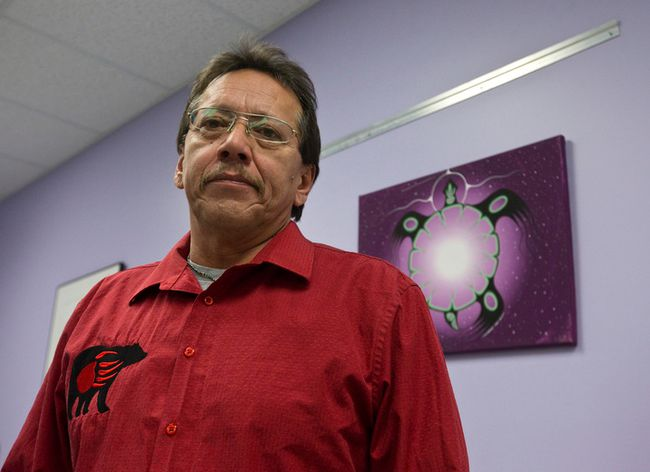Chief Randall Phillips of the Oneida Nation of the Thames. (CRAIG GLOVER, The London Free Press)
